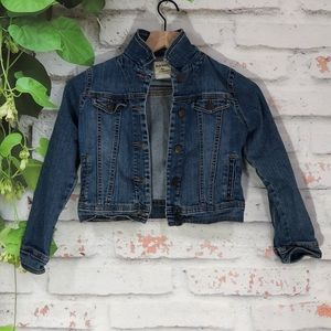 Other - Old Navy Crop Denim Jacket Size Medium